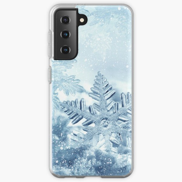 Snowflake Crystals Samsung Galaxy Soft Case