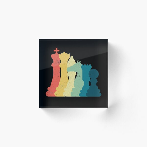 Chess T-shirts and Gift Ideas Acrylic Block