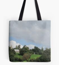 sunday review Tote Bag