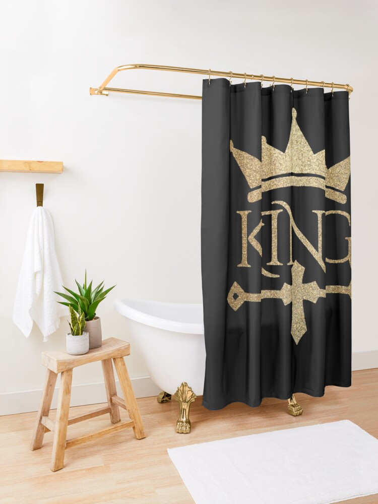 Alternate view of King Shower Curtain