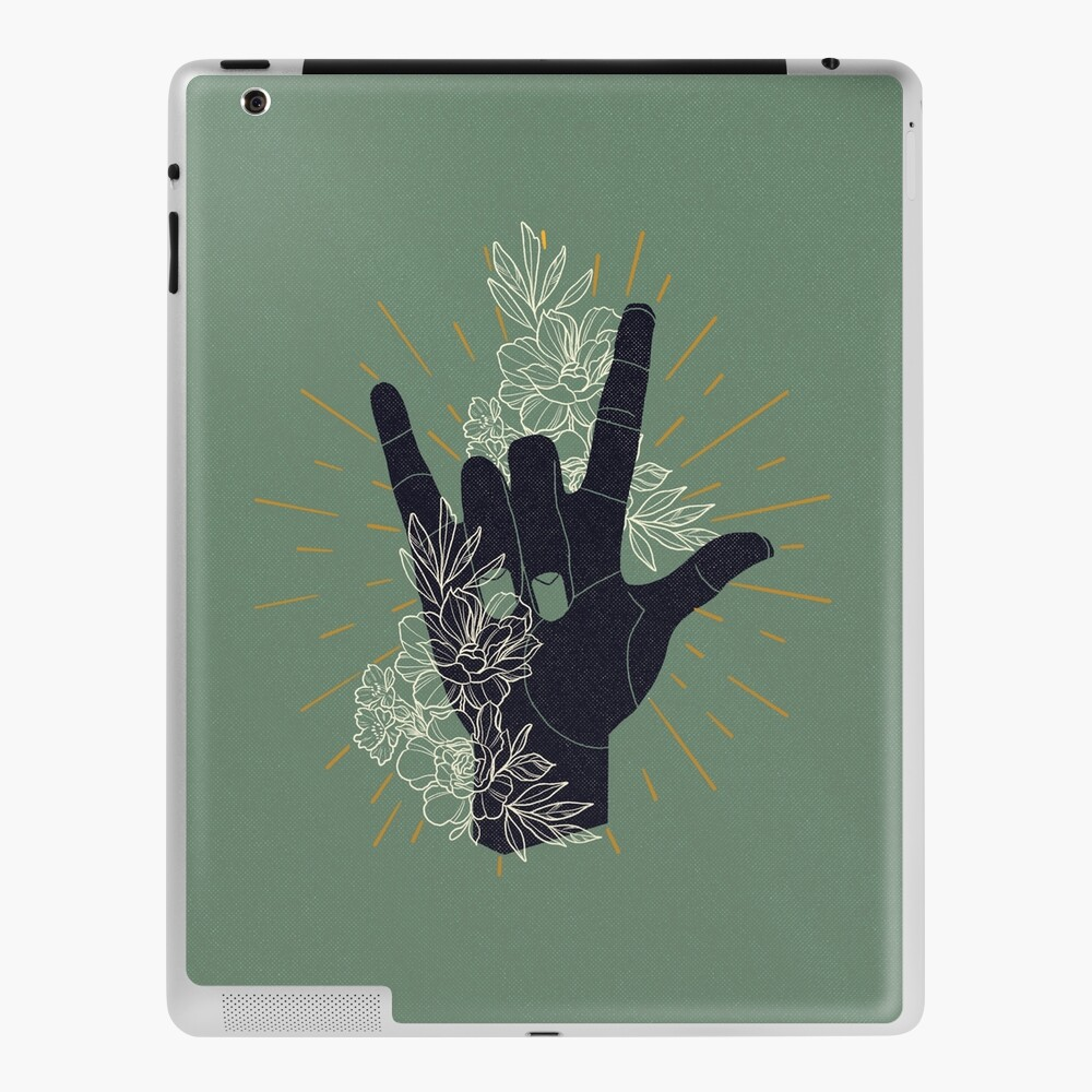 I LOVE YOU (Sign Language) iPad Case & Skin