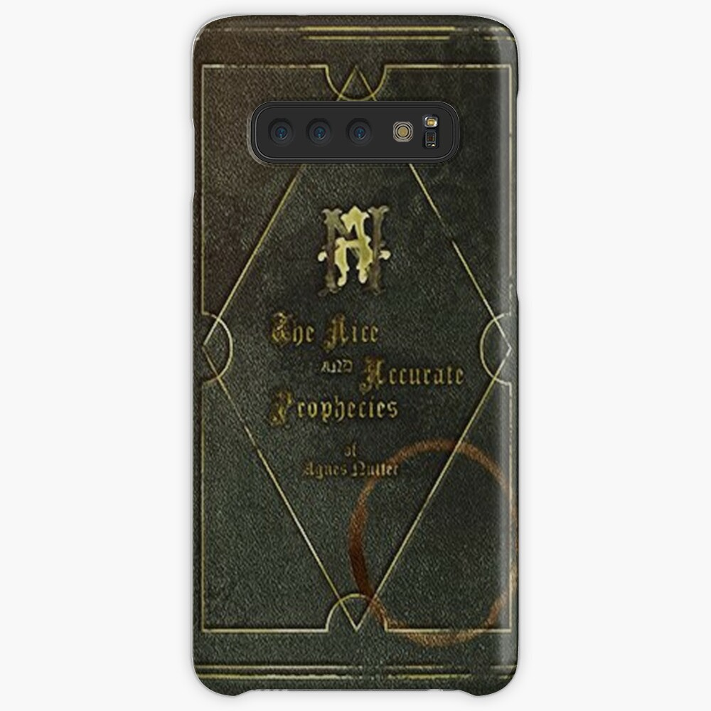 the nice and accurate prophecies of agnes nutter Case & Skin for Samsung Galaxy