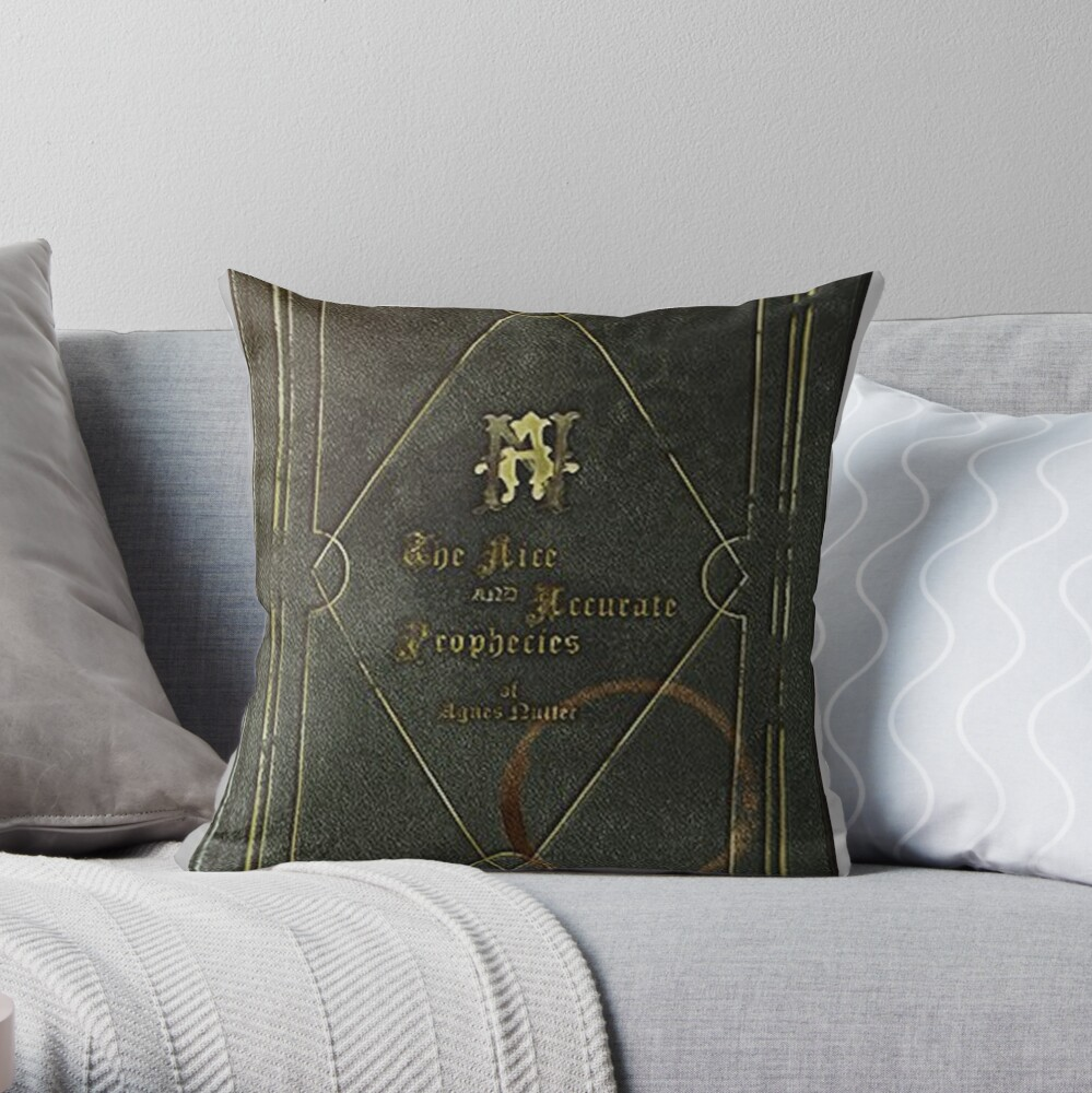 the nice and accurate prophecies of agnes nutter Throw Pillow