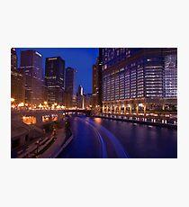 Chicago River Walk Photographic Print