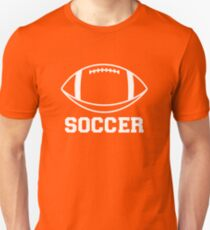 FOOTBALL (SOCCER) Unisex T-Shirt