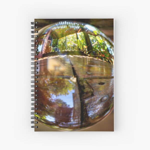 Patio microcosm Spiral Notebook