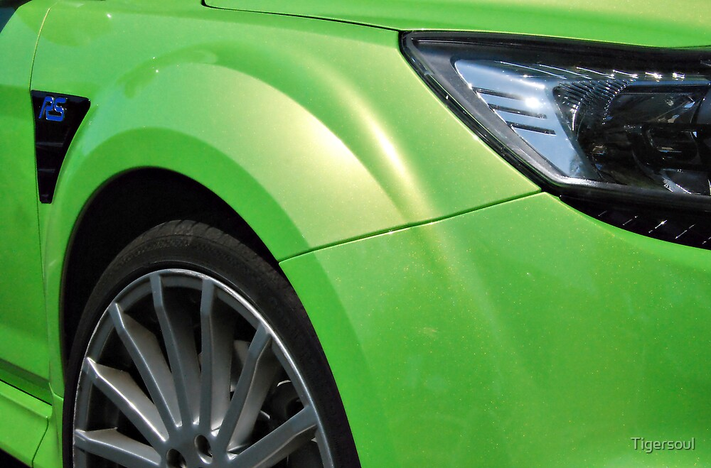 Ford Focus RS in wicked green! by Tigersoul