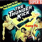 The Thunderkick Kung Fu Super 8 cover 1970s by PlaidStallions