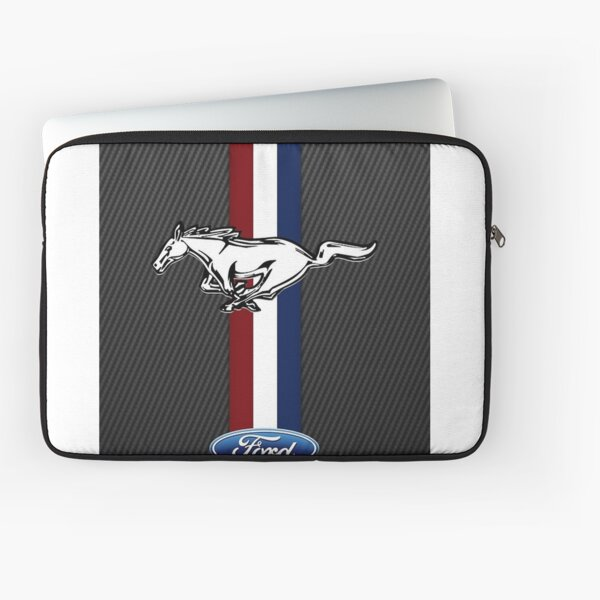 ford mustang black Laptop Sleeve