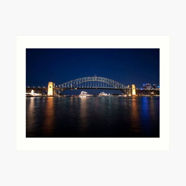 McMahons Point Art Print