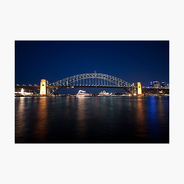 McMahons Point Photographic Print