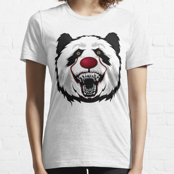 Panda Bear Clown Halloween Animal Essential T-Shirt