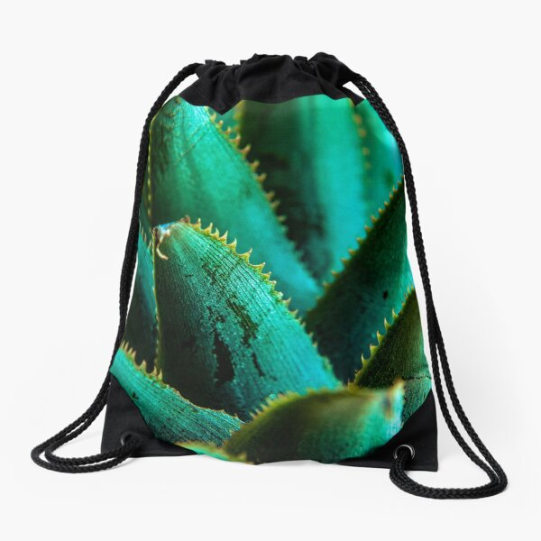 Pineapple head Drawstring Bag