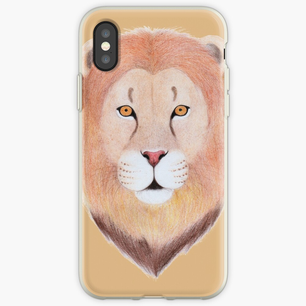African Lion iPhone Case & Cover