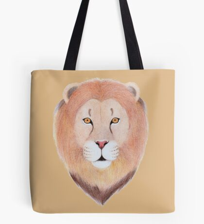 African Lion Tote Bag
