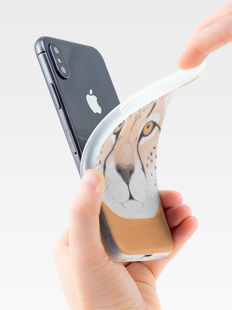 Alternate view of African Cheetah iPhone Case & Cover