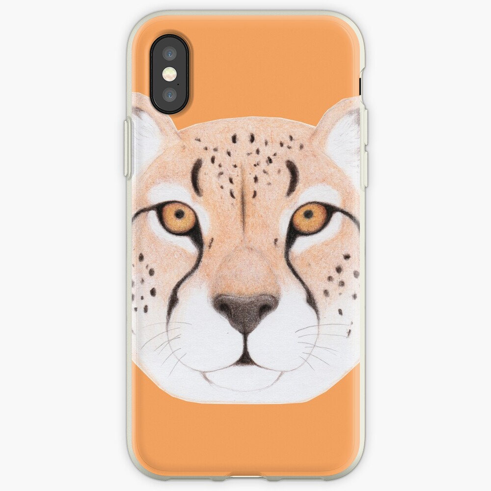 African Cheetah iPhone Case & Cover