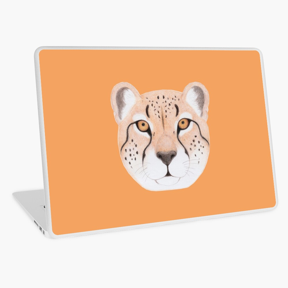 African Cheetah Laptop Skin