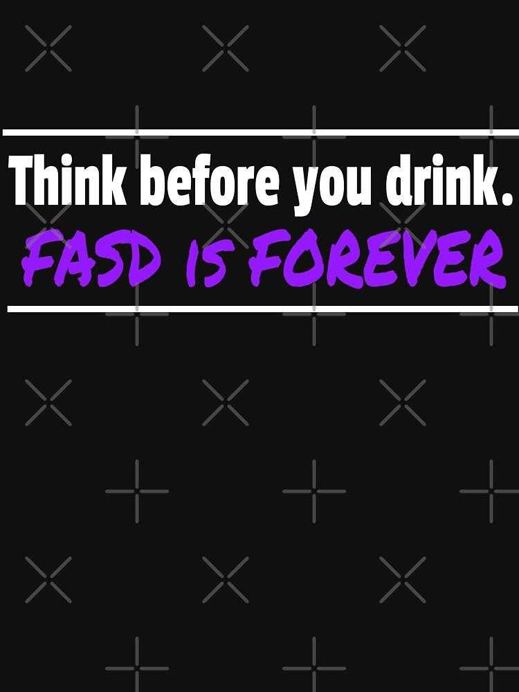 Verbreiten Sie das FASD-Bewusstsein überall! von FASDandSuccess