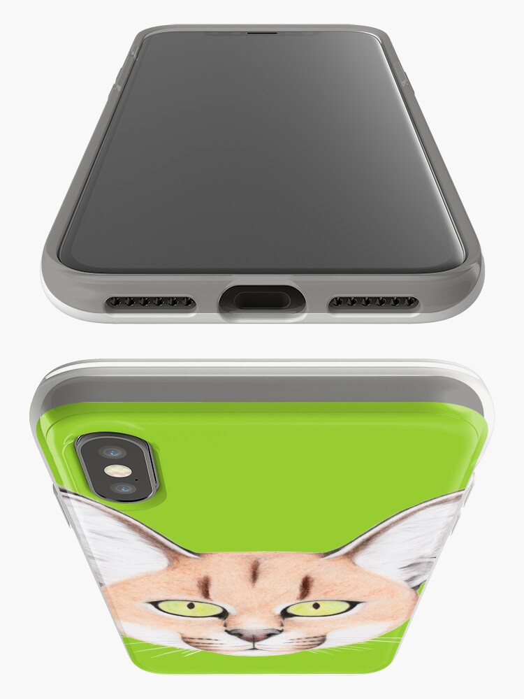 Alternate view of African Caracal Cat iPhone Case & Cover