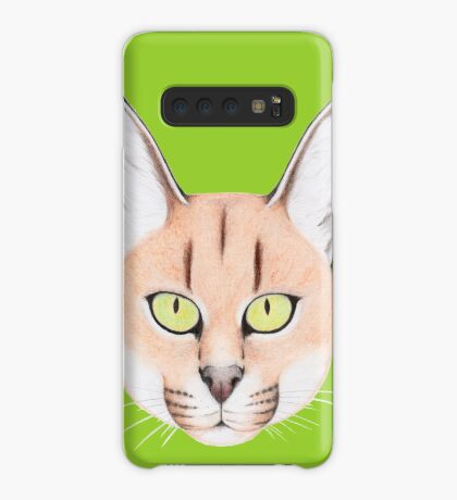 African Caracal Cat Case/Skin for Samsung Galaxy