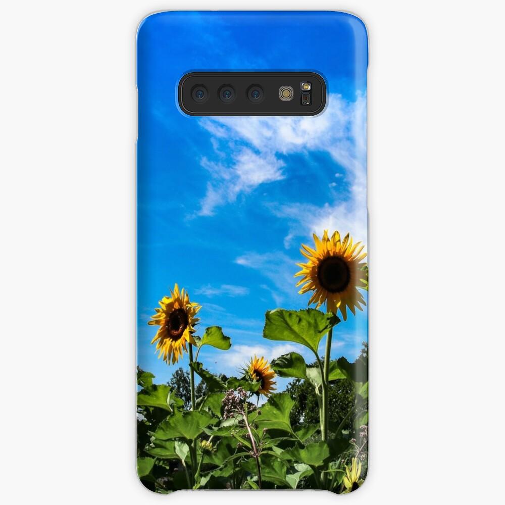 Sun flowers Funda y vinilo para Samsung Galaxy