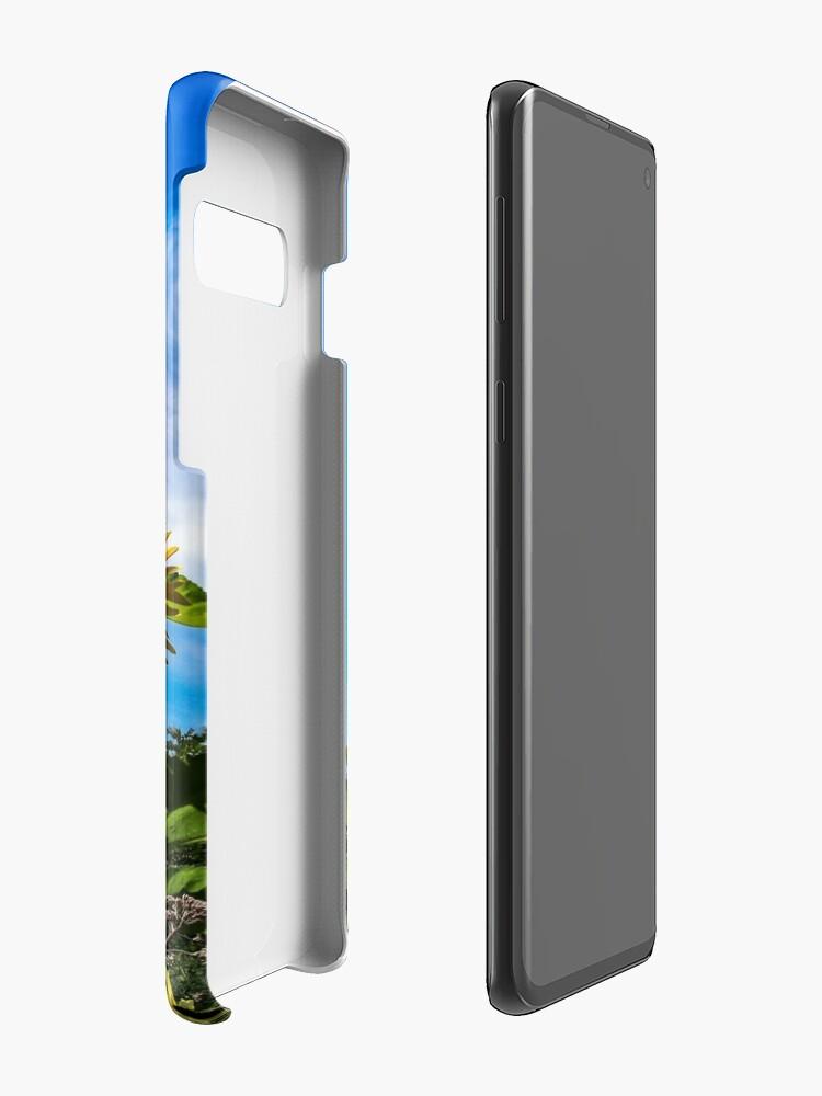 Vista alternativa de Funda y vinilo para Samsung Galaxy Sun flowers