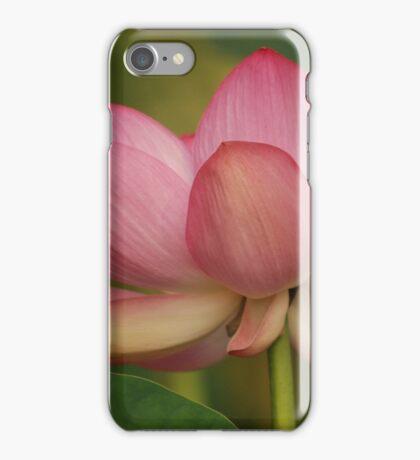 blushing iPhone Case/Skin