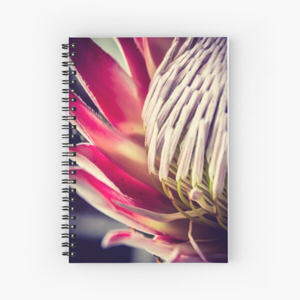 King protea patterns Spiral Notebook