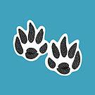 Wolf's Paw Print by elledeegee