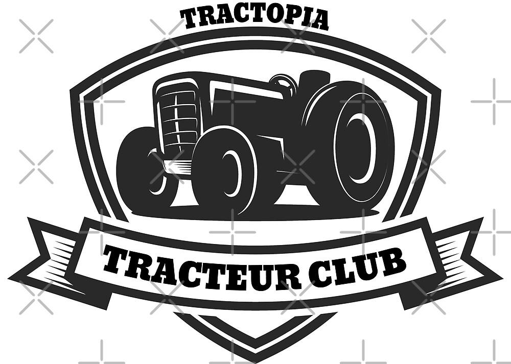 « Tracteur club » par tractopia