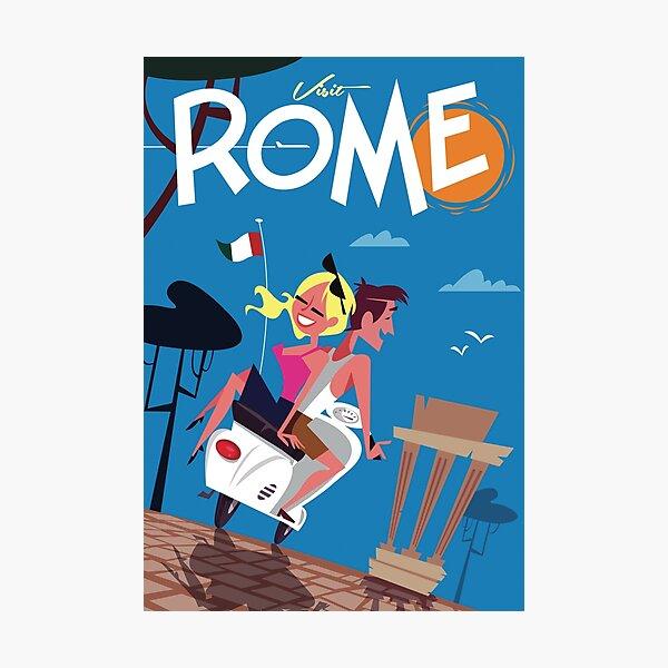 Rome poster Photographic Print