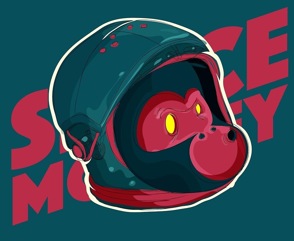 Space Monkey by monfa