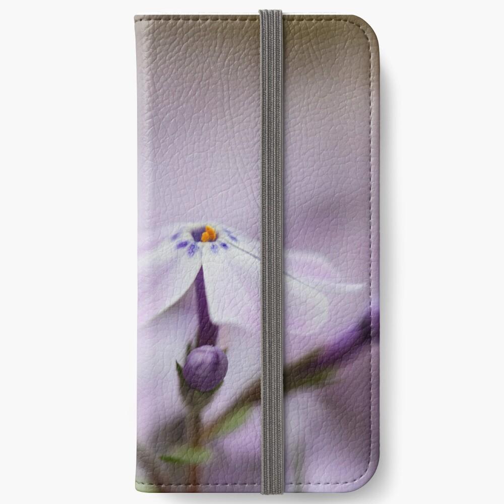 Lavender Spring Flowers iPhone Wallet