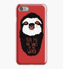 Evil Sloth iPhone Case/Skin