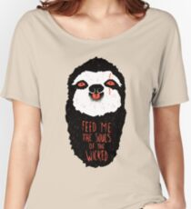 Evil Sloth Women's Relaxed Fit T-Shirt