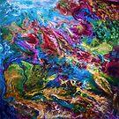 Calypso abstrakte Malerei von OLena Art von OLena  Art ❣️