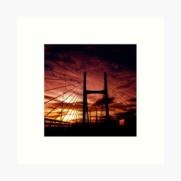 The Road To Swansea Art Print