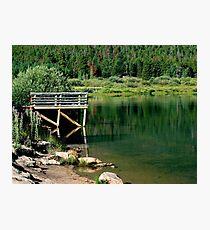 Lily Lake Colorado Photographic Print
