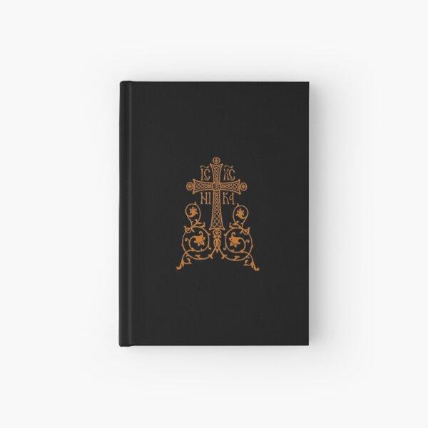 Orthodox Cross Design Hardcover Journal