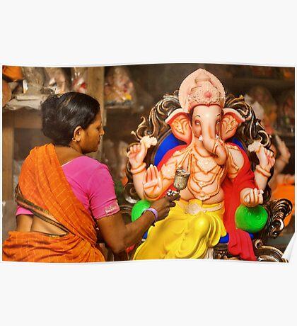 Making of the Ganesh idols #2 Poster