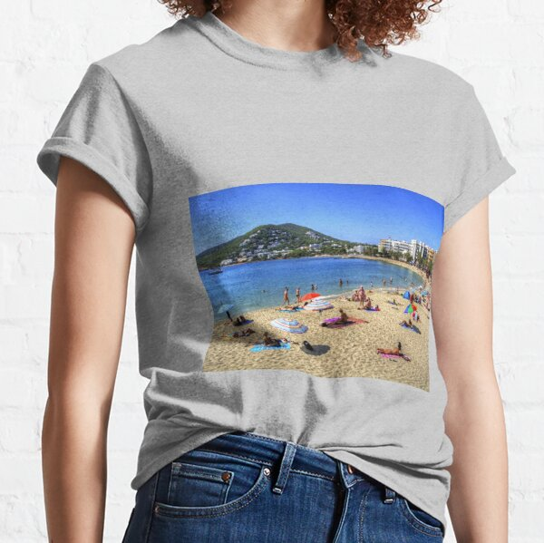 Santa Eulalia Beach and Bay Classic T-Shirt
