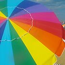 Beach Umbrella by Tina  Bark