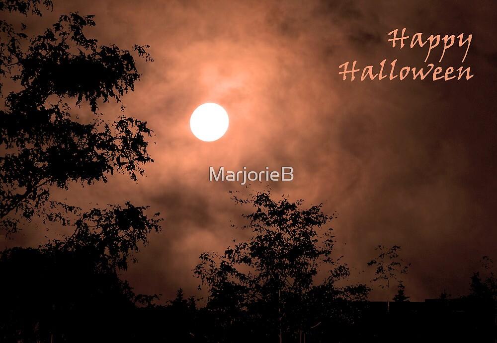 Haunting Moon (card) by MarjorieB