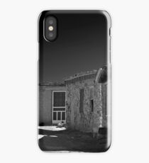 WHITE SCREEN DOOR iPhone Case/Skin
