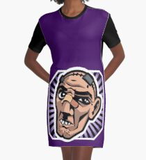 Crazy Earl! Graphic T-Shirt Dress