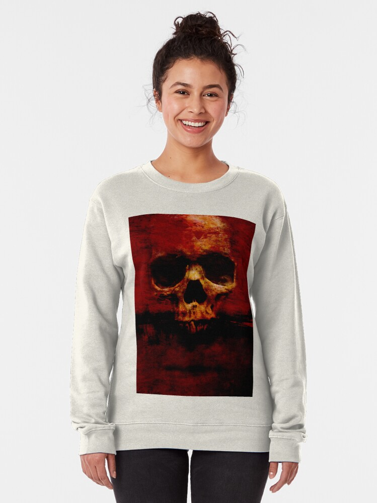 Alternate view of Skull XVIII (Patrick) Pullover Sweatshirt