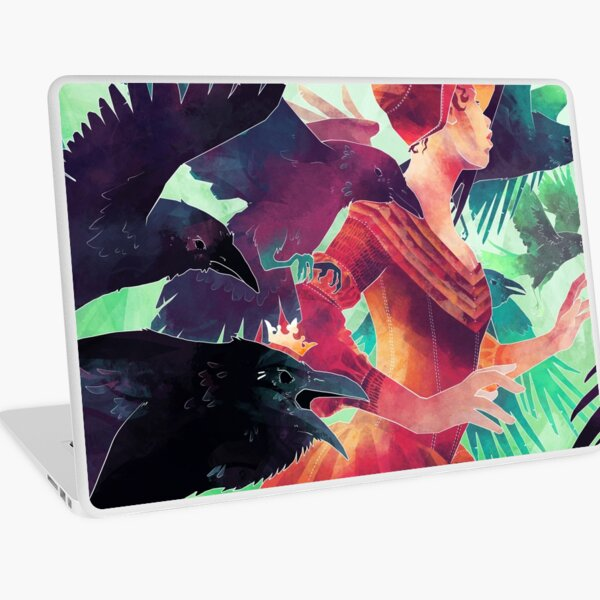 The Lost Lenore Laptop Skin