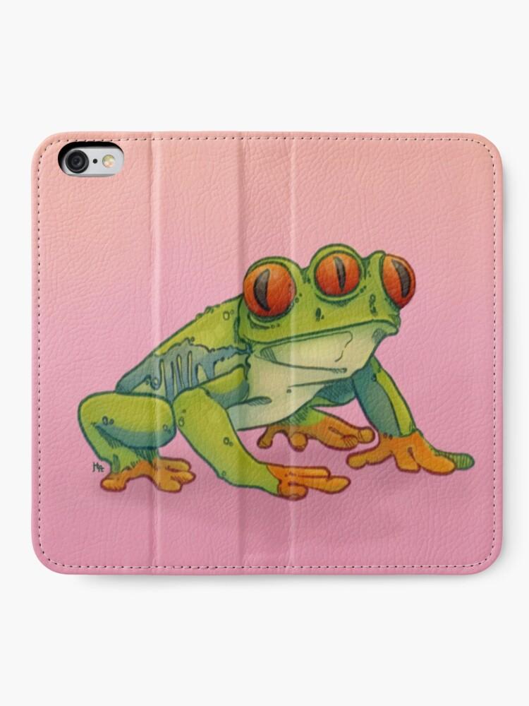 Alternate view of 3 EYES FROG iPhone Wallet
