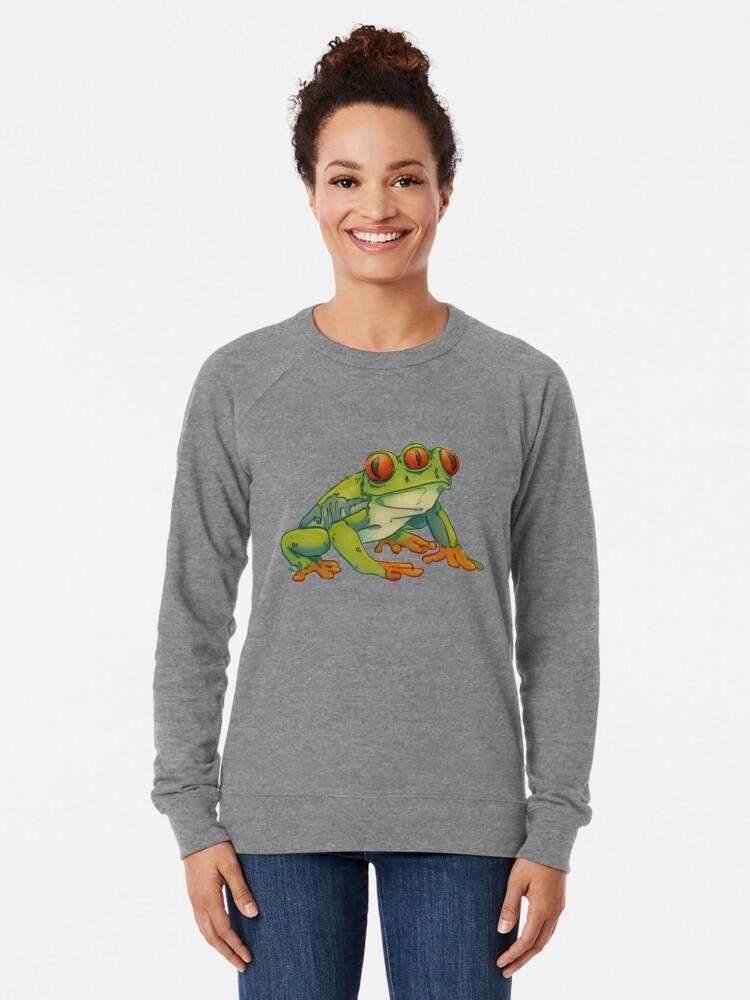 Alternate view of 3 EYES FROG Lightweight Sweatshirt